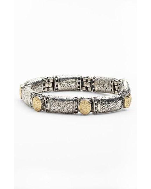 Konstantino | Metallic 'classics' Two-tone Bracelet | Lyst