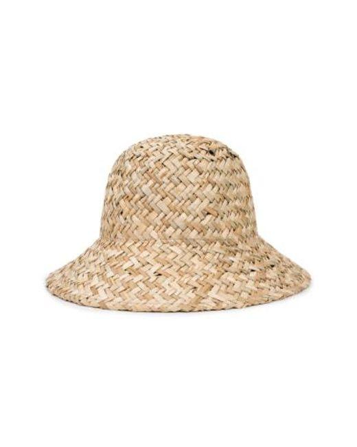 Brixton - Natural Kennedy Straw Hat - Lyst