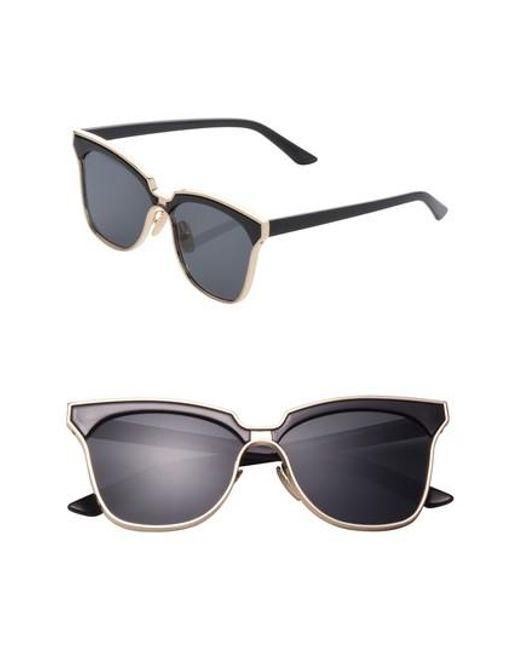 SUNNYSIDE LA | Black 61mm Angular Sunglasses | Lyst