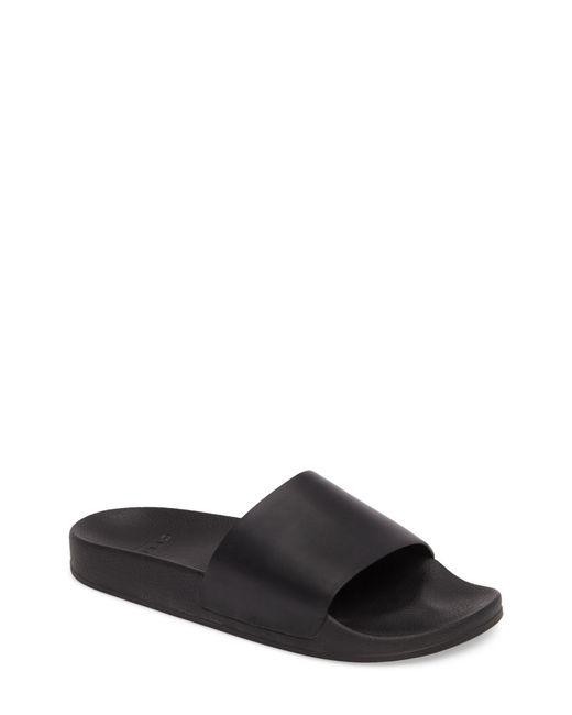 GREATS - Black Slide Sandal for Men - Lyst