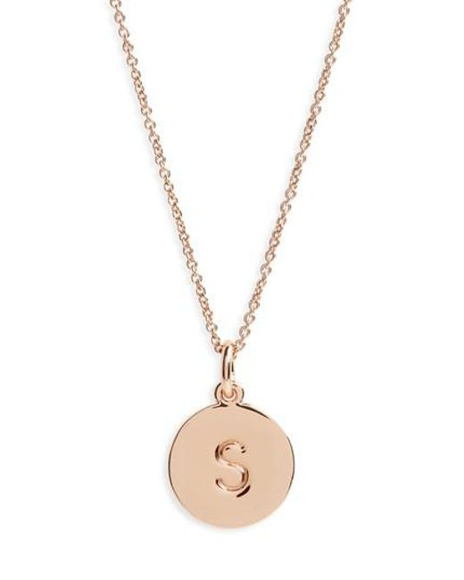 Kate Spade | Metallic One In A Million Pendant Necklace | Lyst