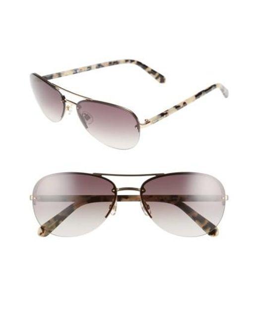 Kate Spade   Pink 'beryls' 59mm Sunglasses   Lyst
