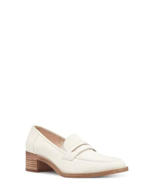 Nine West - White Kimmy Penny Loafer - Lyst