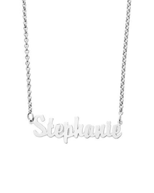 beautiful s script claire necklace us
