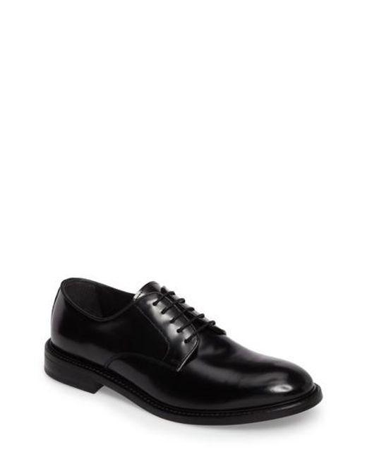 Kenneth Cole | Black Plain Toe Derby for Men | Lyst