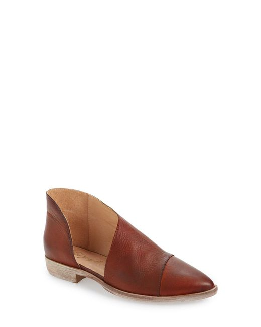Free People - Natural Royale Pointed-Toe Boots - Lyst