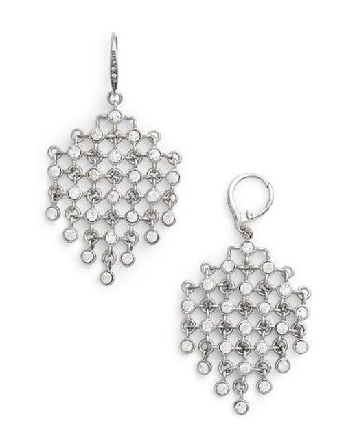 Jenny Packham   Metallic Kite Earrings   Lyst