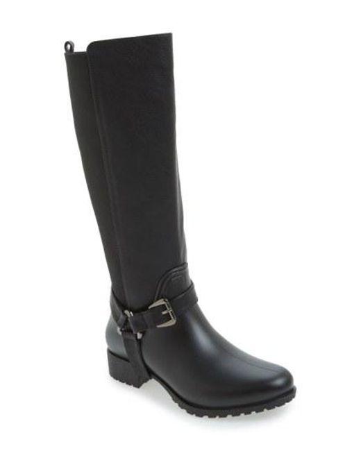 Dav - Black 'Kingston' Water-Resistant Boot - Lyst