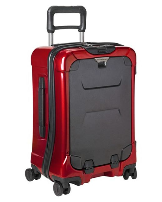 Briggs & Riley | Red 'torq International' Hard Shell Spinner Carry-on for Men | Lyst