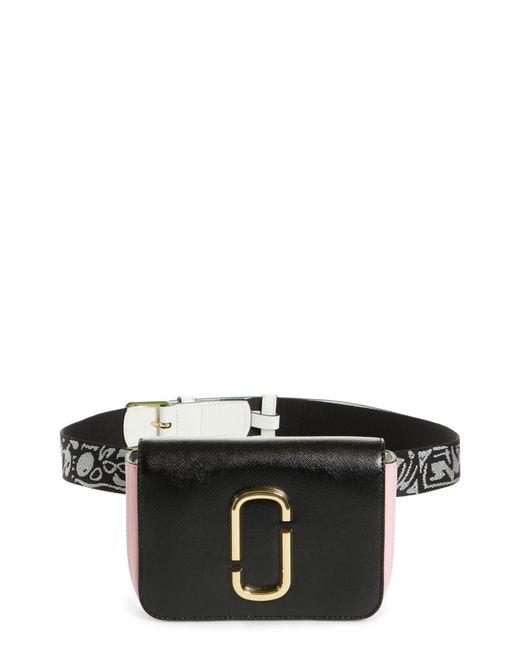 Marc Jacobs - Black Hip Shot Convertible Crossbody Bag - - Lyst