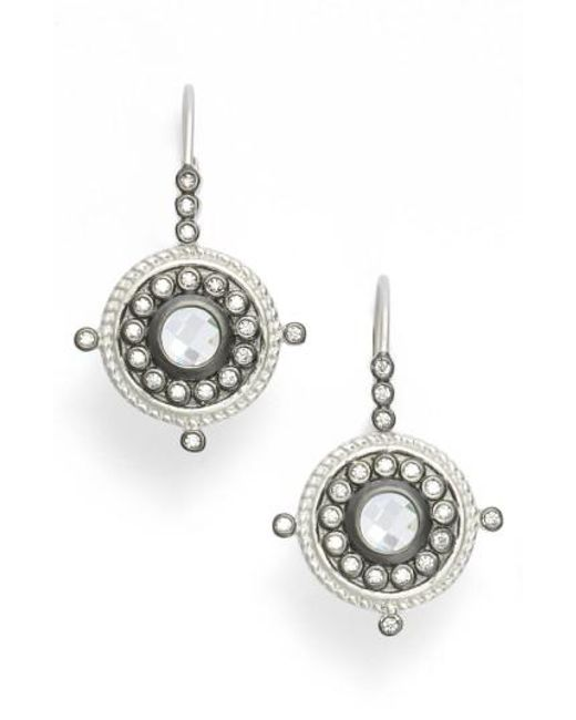 Freida Rothman   Metallic Drop Earrings   Lyst