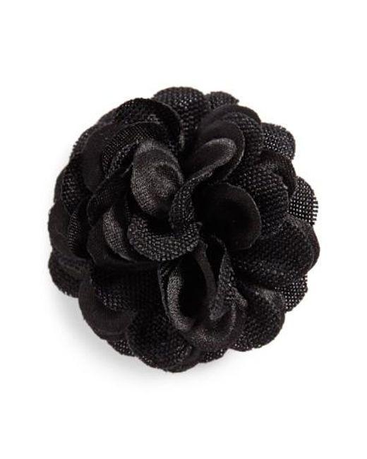 Hook + Albert | Black Lapel Flower | Lyst