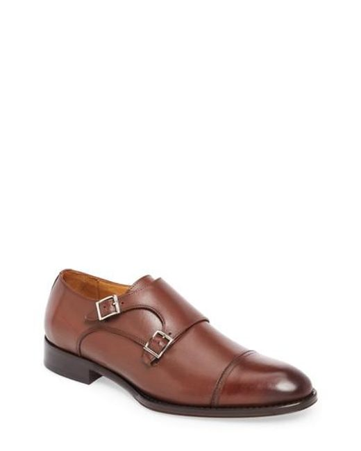 John W. Nordstrom - Multicolor John W. Nordstrom Stratton Double Monk Strap Shoe for Men - Lyst