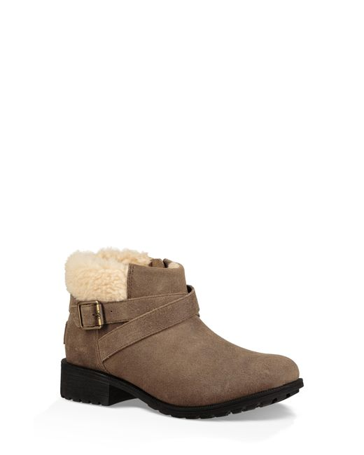 Ugg - Brown Ugg Benson Waterproof Bootie - Lyst