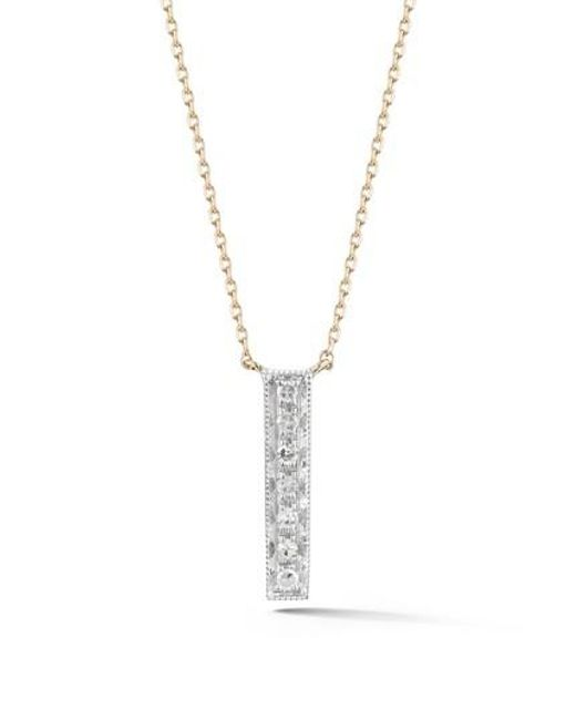 bar necklace products grande vertical date brook york gold