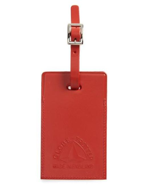Globe-Trotter   Red Centenary Luggage Tag   Lyst