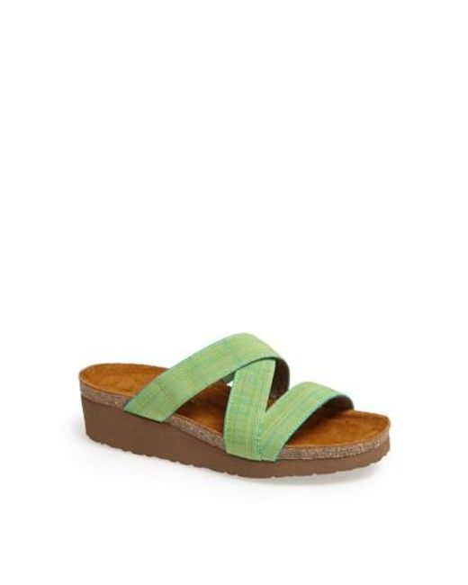 Naot | Green 'naomi' Sandal | Lyst