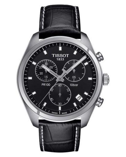 Tissot | Multicolor Pr100 Chronograph Leather Strap Watch for Men | Lyst