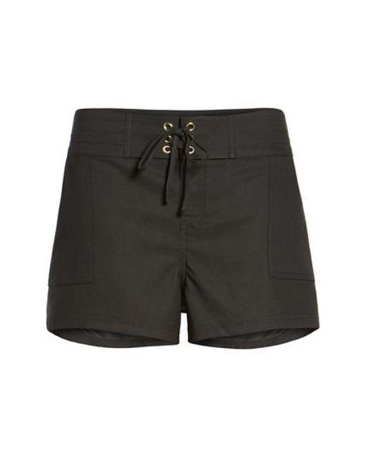 La Blanca | Black 'boardwalk' Shorts | Lyst