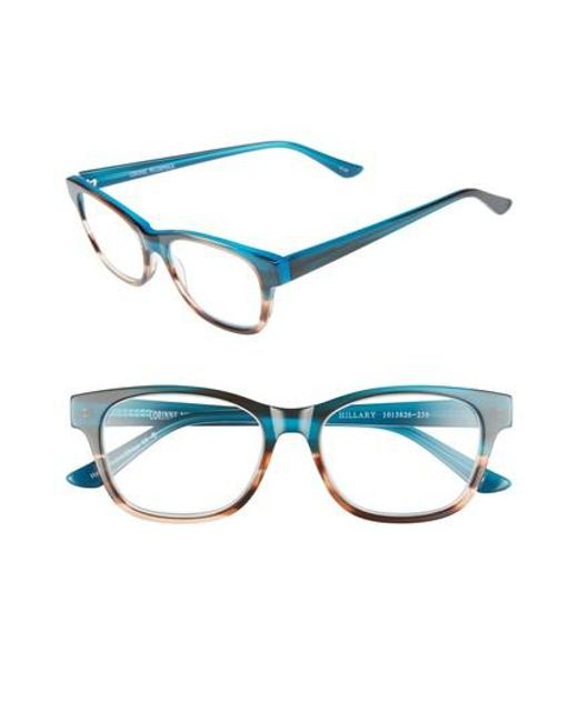 Corinne Mccormack - Blue Hillary 50mm Reading Glasses - - Lyst