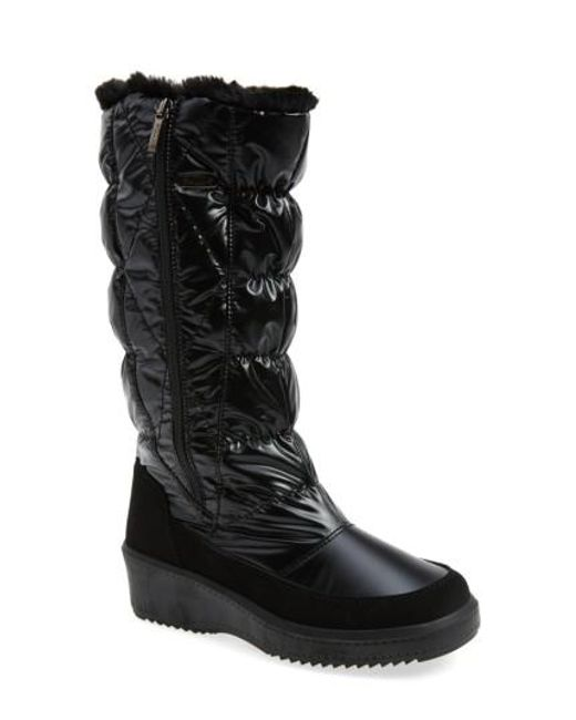 Pajar | Black 'alexandra' Waterproof Boot | Lyst