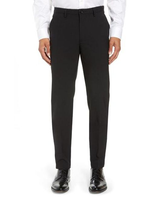 BOSS - Black Kaito Slim Fit Trousers for Men - Lyst