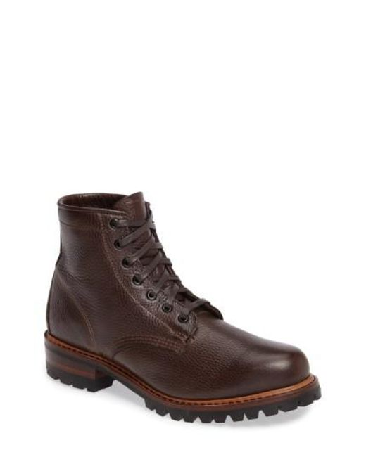 Frye | Brown Arkansas Logger Boot for Men | Lyst