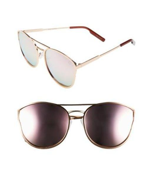 Quay - Pink Cherry Bomb 60mm Sunglasses - Lyst