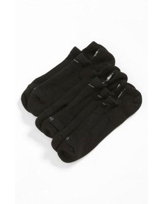 Nike | Dri-fit 3-pack Cushioned No-show Socks, Black for Men | Lyst