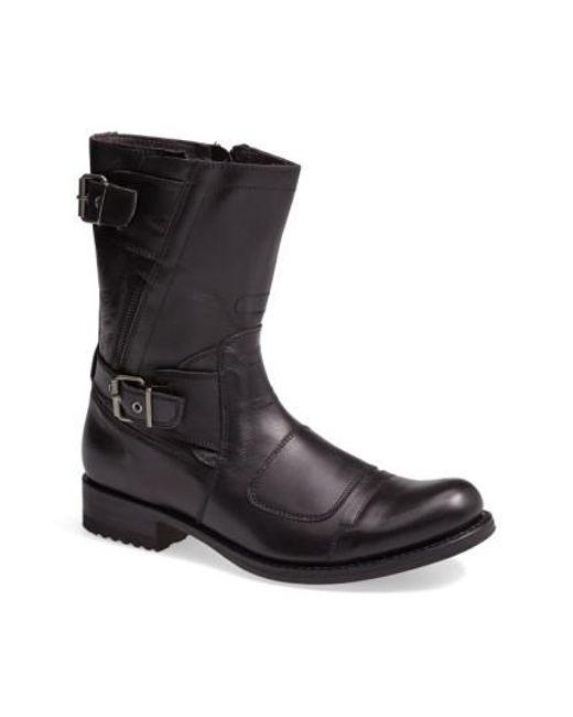 Sendra   Black Moto Boot for Men   Lyst
