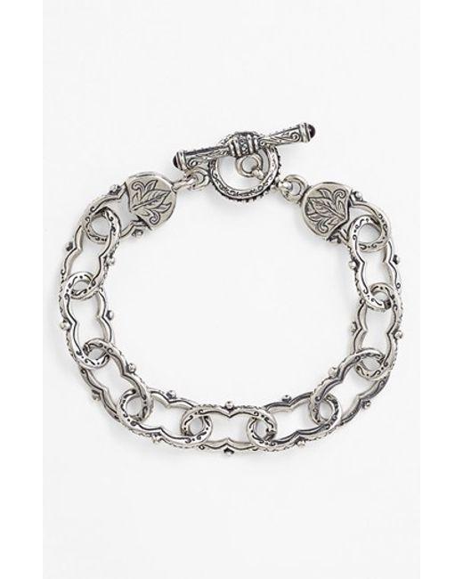 Konstantino | Metallic 'classics' Link Toggle Bracelet | Lyst