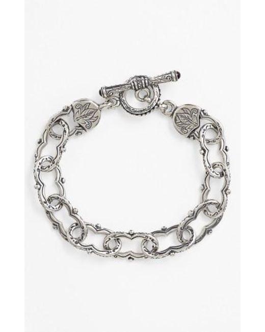 Konstantino   Metallic 'classics' Link Toggle Bracelet for Men   Lyst