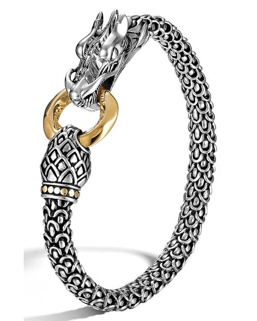 John Hardy - Metallic 'legends' Dragon Bracelet - Lyst