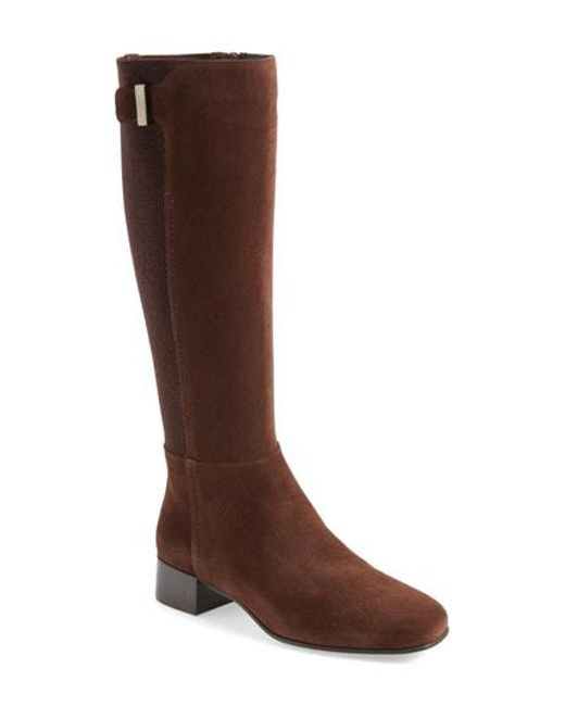 Aquatalia - Brown Letizia Weatherproof Boot - Lyst