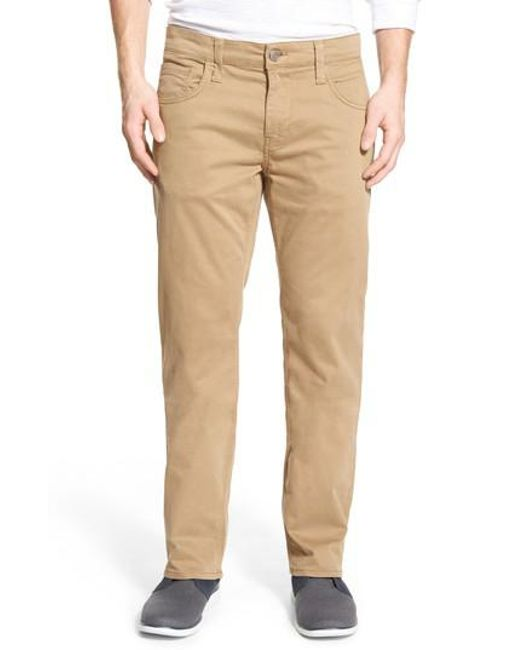 Mavi Jeans - Natural Zach Twill Pants for Men - Lyst