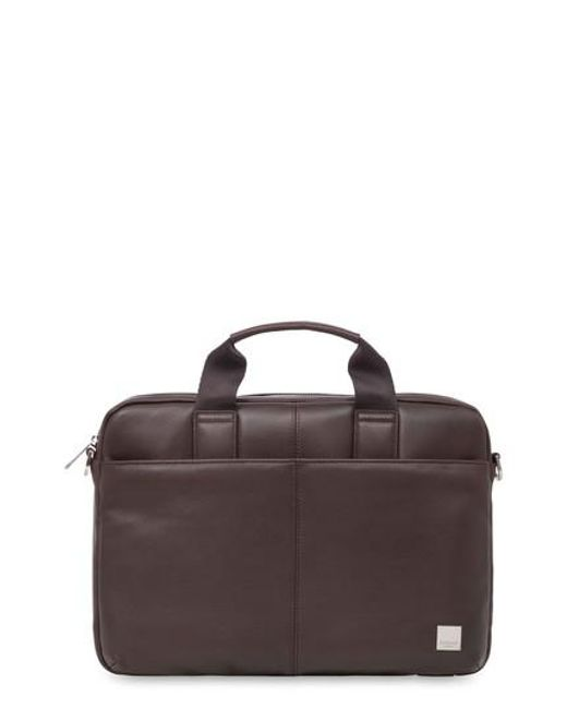 Knomo | Brown Brompton Stanford Leather Briefcase for Men | Lyst