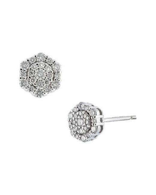 Bony Levy   Metallic Cypress Cluster Diamond Earrings (nordstrom Exclusive)   Lyst