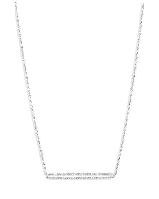 Bony Levy - Metallic Geo Diamond Pendant Necklace (nordstrom Exclusive) - Lyst