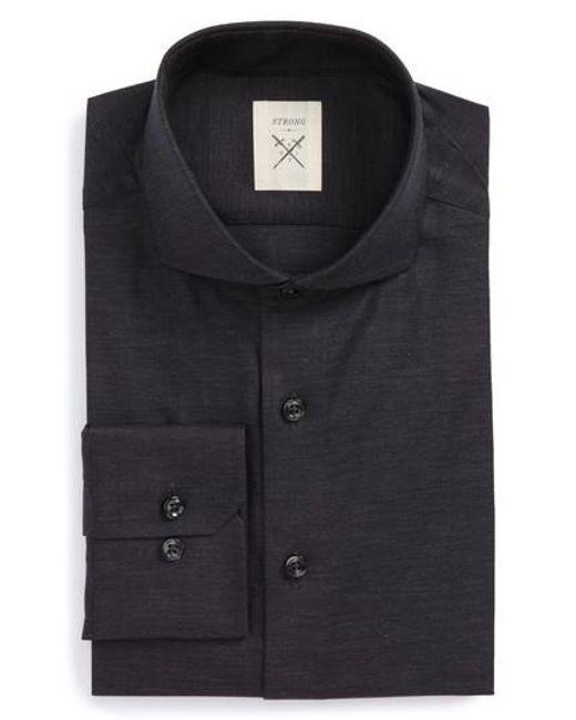 Strong Suit | Multicolor Extra Trim Fit Herringbone Dress Shirt for Men | Lyst