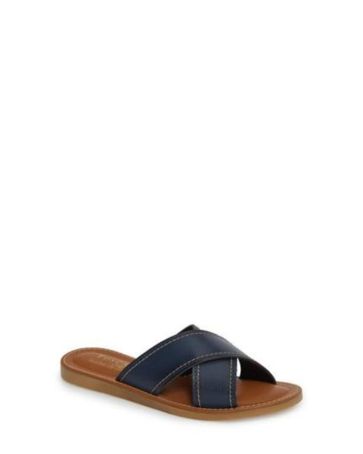 Easy Street - Blue By Easy Street Evelina Slide Sandal - Lyst