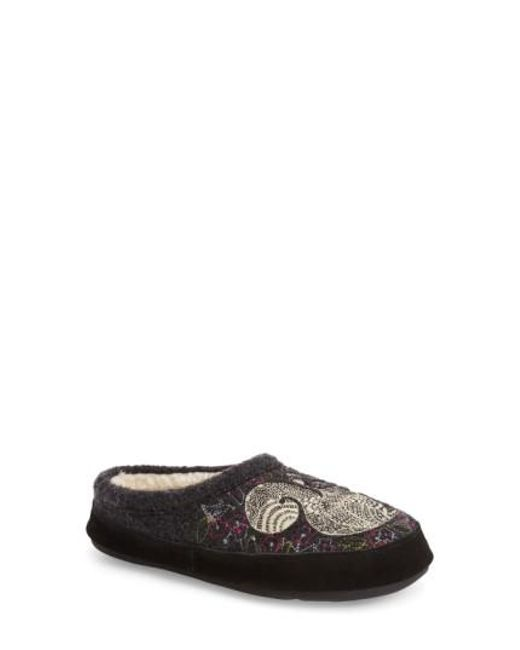 Acorn | Gray 'forest' Wool Mule Slipper | Lyst