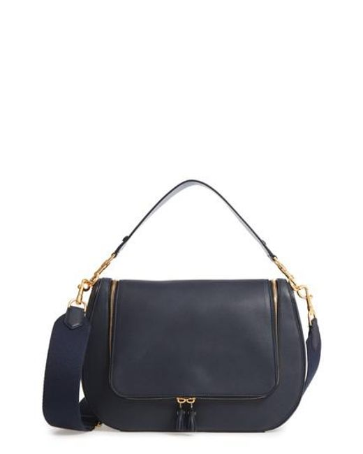 Anya Hindmarch   Blue Vere Maxi Leather Satchel   Lyst