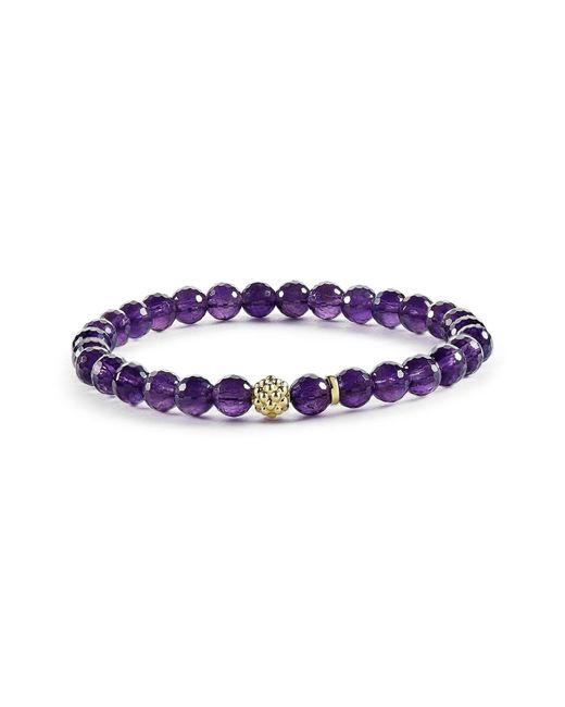 Lagos - Purple 'caviar Icon' Semiprecious Stone Bracelet - Lyst