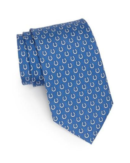 Vineyard Vines | Blue Indianapolis Colts Print Tie for Men | Lyst