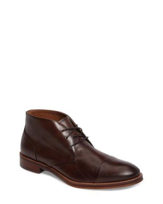 Johnston & Murphy | Brown Conard Chukka Boot for Men | Lyst