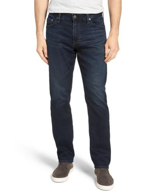 AG Jeans - Blue Everett Slim Straight Fit Jeans for Men - Lyst