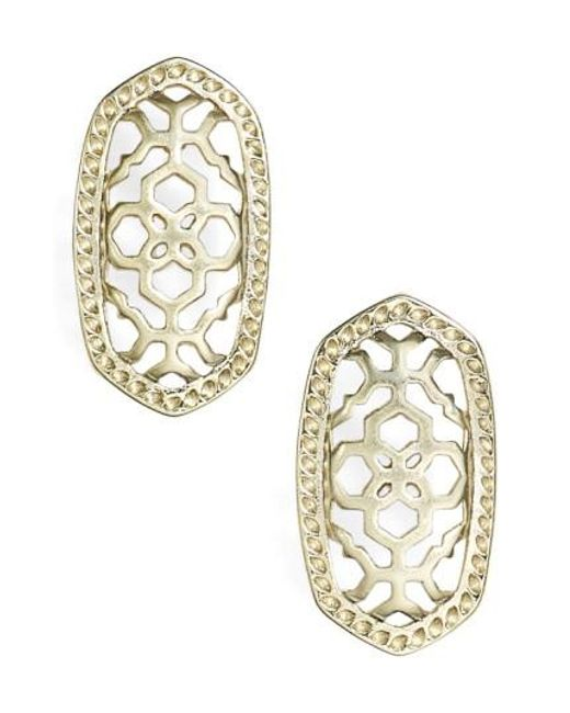 Kendra Scott | Metallic 'bryant' Drop Earrings | Lyst