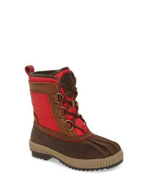 Pajar | Red Kai Waterproof Insulated Winter Duck Boot | Lyst