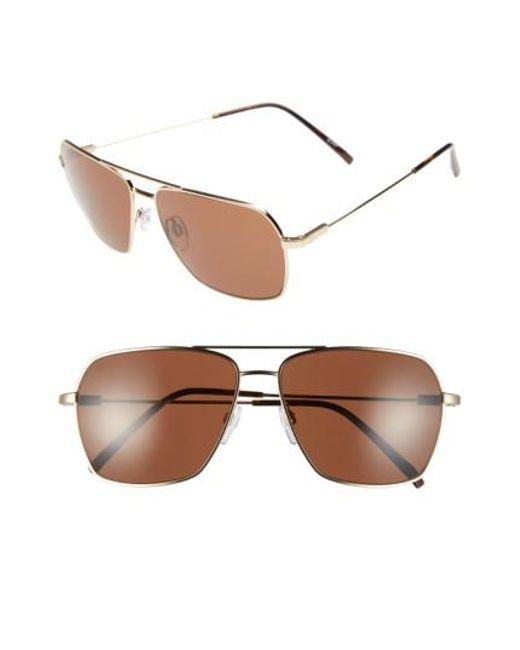 Electric - Metallic 'av2' 59mm Sunglasses - Lyst