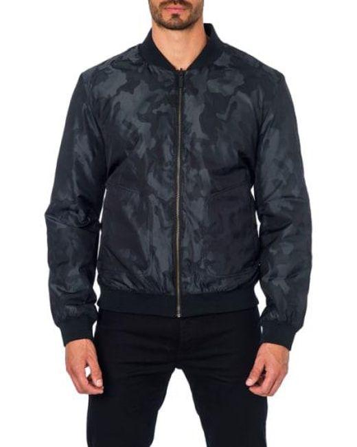 Jared Lang - Black New York Reversible Bomber Jacket for Men - Lyst